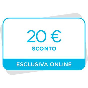 20€ di sconto al tuo prossimo acquisto sul sito