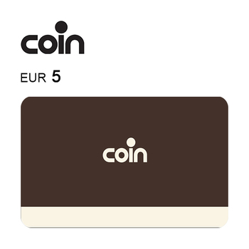 Carta regalo Coin da 5€