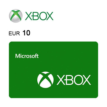 Carta regalo Xbox da 10€